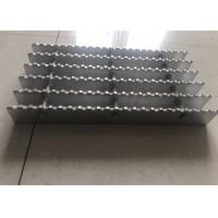Serrated Aluminum Grating For Roof Grille 6063 Raw Material Customized Size Manufactures