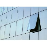 Commercial Outdoor Flexible Aluminium Curtain Wall 2.5 - 5.0mm Thickness Manufactures