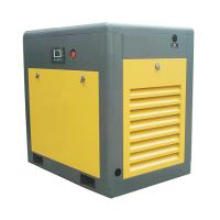 8 bar PLC High Power Rotary Screw Air Compressor Two Stage One Year Warranty Manufactures