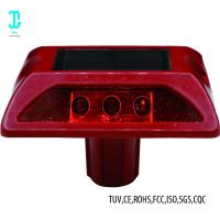 China Plastic Cat Eye Solar Road Studs Light  Red 8000mcd For Drivingway 3 Year Warranty on sale