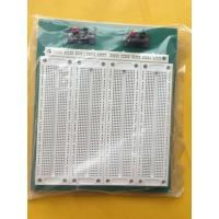 PCB Solderless Breadboard Kit , 2 Switches Solderless Bread Board With Green Plate Manufactures