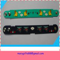 complicated good quality soft pvc wristband strap for events Manufactures