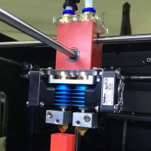Quality 350W Desktop 3d Printer , Steel Frame 3d Printer Creatbot DX 300*250*300 for sale