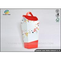 Special Formed Paper Candy Box , Corrugated Food Boxes Elegant Design Manufactures