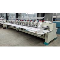 Flat / Hat Double Sequin Embroidery Machine For Shirts With 850 RPM Speed