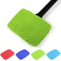 Buy cheap Microfiber Multi Function Window Cleaning Brush Towel Cover Car Home Glass from wholesalers
