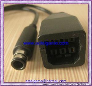 Quality Xbox360 to Xbox360 E power transfer cable Xbox360 E game accessory for sale
