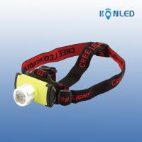 Brighter New Style Cree XPE Lithium Battery Powered Led Headlight Manufactures