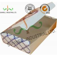 China Both Sides Printing Cardboard Food Packaging Boxes , Mooncake Display Packaging Box for sale