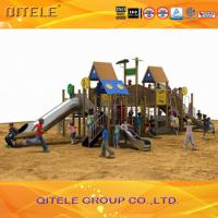 Outdoor Children Playground Equipment For Age 2 - 12 Safety Manufactures
