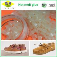High Viscosity White Hot Glue Pellets For Shoes Edage Sealing Manufactures