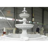 China Classical Outdoor Large Carving Marble Water Fountain on sale