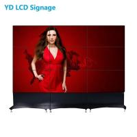 Narrow Bezel LCD Video Wall Panels 55 Inch 170 Degree Viewing Angle Manufactures