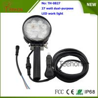 China Portable and off road  27W LED Work Light for off-road vehicles and LED emergency lighting on sale
