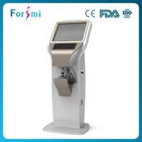 Touch screen rapid 3d 19 inch screen facial digital skin moisture analyzer for beauty salon use Manufactures