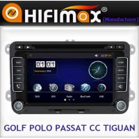 China VW Golf double din in dash touch screen car dvd player with gps system on sale
