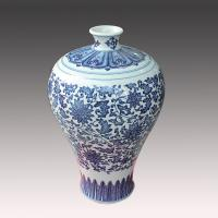 China jingdezhen antique blue and white ceramic porcelain vase for cheap wholesale on sale