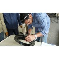 China Slip On Steel Pipe Flange , Threaded Pipe Flange Segregation Ingot Eliminated for sale