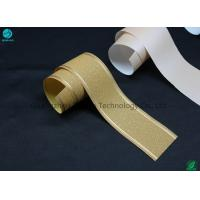 33g Customized Tipping Base Paper With Hot Stamping Logo Pattern / Cigarette Filter Packaging Manufactures