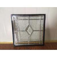 Custom Tempered Decorative Glass Panels For Walls Thermal Sound Insulation Manufactures