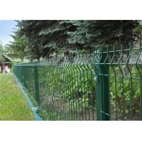 Welded Wire Bends Fence Panel Pvc Coated Wire Mesh Manufactures