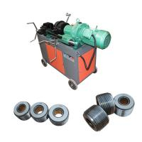 Building Electrical Rebar Thread Rolling Machine Easy Operation 1440 r/min Manufactures