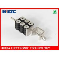 """Telecom Tool Through Core Six Hole Coaxial Cable Clamps , 7/8"""" Coaxial Cable Loop Clamp Manufactures"""