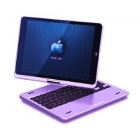 Wireless iPad Air Bluetooth Keyboard 360 Degree Rotatable case Manufactures