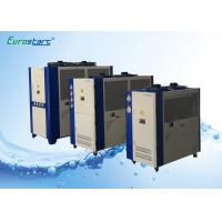 China Shopping Center 10 Ton Air Cooled Chiller Portable Air Chiller R22 Or R407C Refrigerant on sale