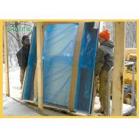 Clear Window Glass Surface Protection Film Blue Transparent Protective Film Manufactures