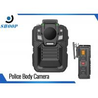 Remote Control Wearable Body Cameras WIFI GPS Optional Light Weight Manufactures