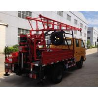Quality Hydraulic Chuck Truck Mounted Portable Drilling Rigs For Blast Hole , Exploring Gas for sale
