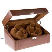 China Leather Vennered Watch Winder for Luxurious Automatic Winding  Watch on sale