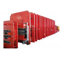Steel Cord Rubber Conveyor Belt Vulcanizing Press Making Machine Production Line Manufactures