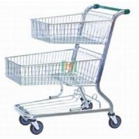China Two Basket Hand Push Cart (MJYI-WT09) on sale
