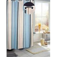 Fabric Shower Curtain, Waterproof and Soft, Fashionable Designs Are Available.