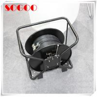 China Deployable Outdoor Fiber Patch Cable Tactical Fiber Optic Cable Reel 500 Meter on sale