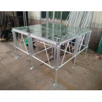 Quality 18mm Thinckess Aluminum Acrylic Portable Stage Platforms with Truss System and for sale