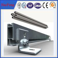 Professional design aluminum solar mounting rail for solar system from yuefeng aluminium Manufactures