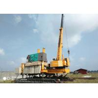 Concrete Hydraulic Static Pile Driver , Square Pile Driving Equipment Manufactures