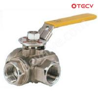 Stainless Ball Valve, CF8, NPT, DN25, CL600 TECV Manufactures
