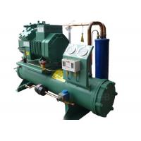 Commercial 6FE-44Y Water Cooled Condensing Unit Refrigeration Electronic Compressor Protection Manufactures