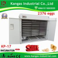 China Automatic 2376 Chicken Eggs Incubator Hatching Machine with CE Approved on sale