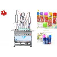Semi Automatic Aerosol Filling Machine / Equipments For Party Snow Spray , Party Strings Manufactures