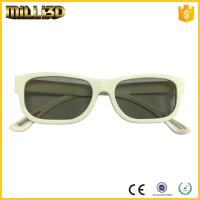 China lower price polarized cinema projector 3d glasses linear/circular wholesale