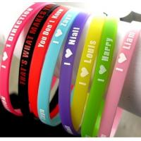 Silicone wristbands Sports Silicone Bracelets Manufactures