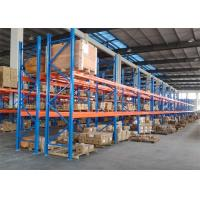 Adjustable Heavy Duty Pallet Racks , Industrial Warehouse Racking System Anti Rust Manufactures
