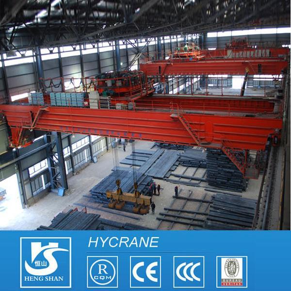 Quality Magnetic Bridge/Overhead Crane, Slabs Lifting Machine Magnetic Lifting Overhead Crane for sale