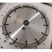 200mm Laser Diamond Tuck Point Blade For Cutting Concrete With 15mm Thickness Manufactures