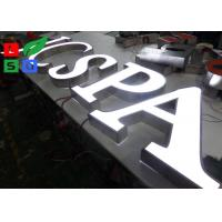Front Lit 3D Logo LED Shop Display LED Channel Letter Signs For Outdoor Shop Display Manufactures
